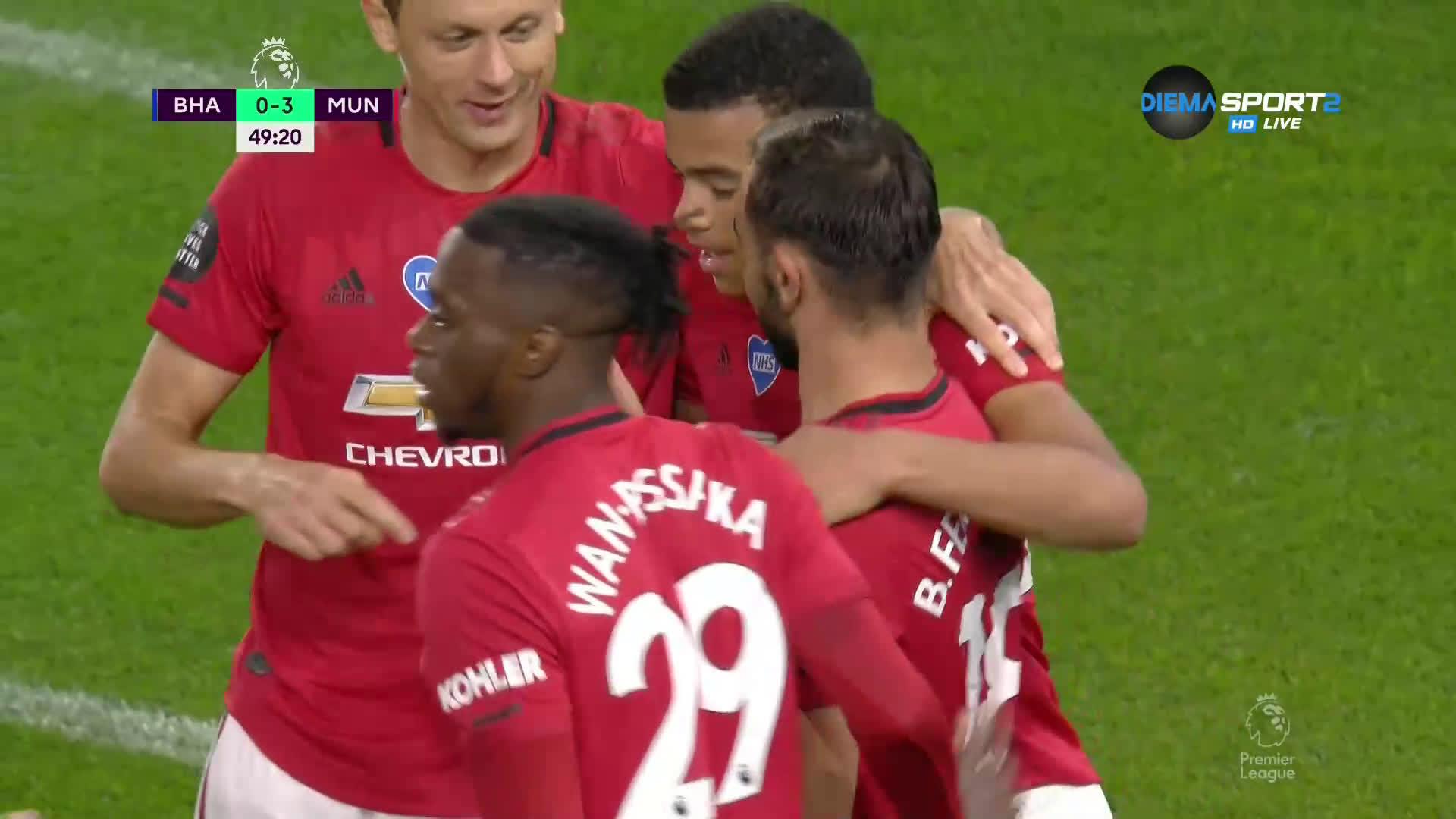 Юнайтед разсипва Брайтън на контраатака