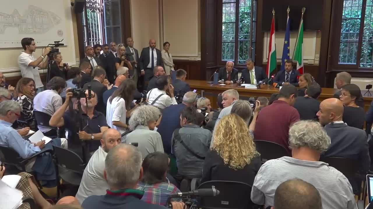 Italy: Salvini hails 'historic change' in Europe after meeting with Orban