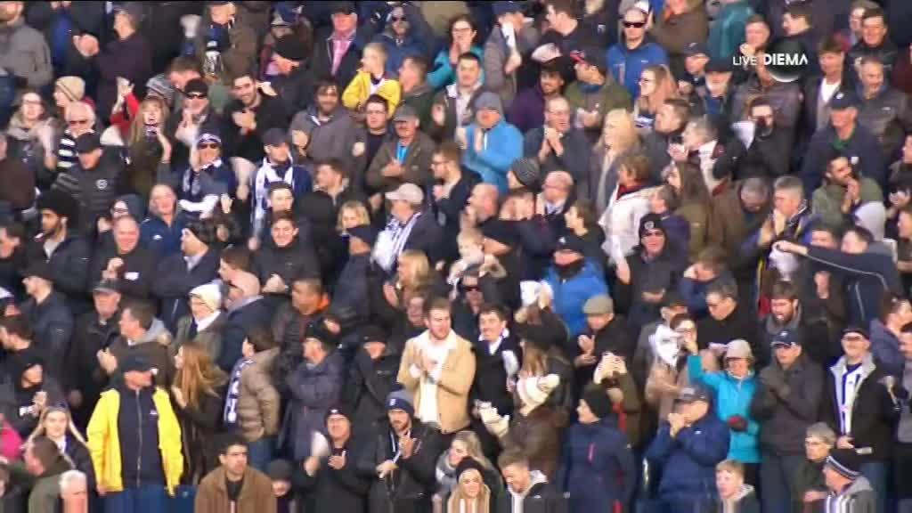 Рондон с феноменален гол за УБА срещу Саутхемптън