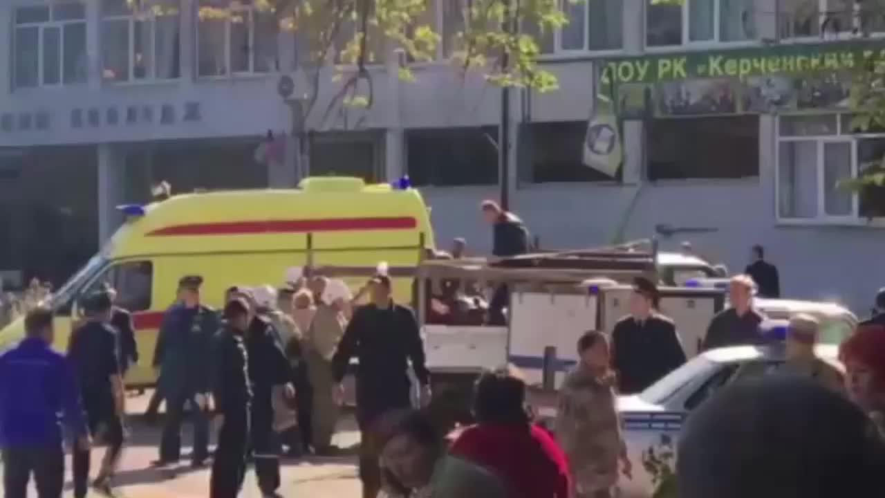 Russia: 10 killed, 50 injured in Crimea's Kerch College blast