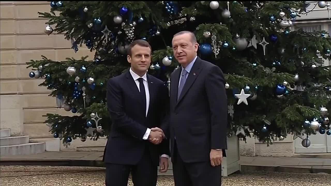 France: Erdogan arrives in Paris to meet Macron