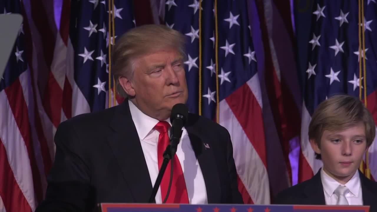 Тръмп призова Америка за обединение