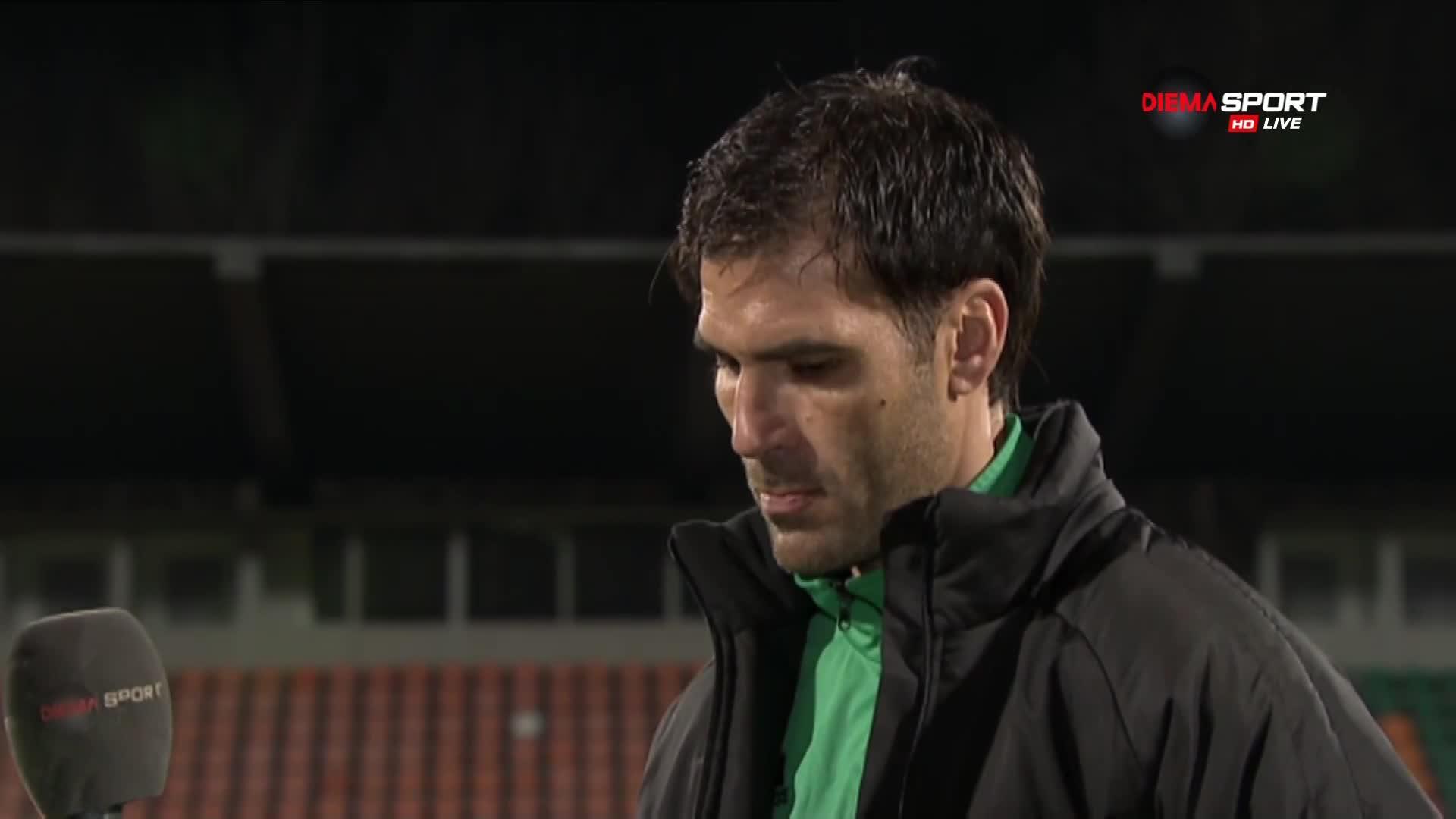 Треньорът на Литекс: Тук не разстрелваме играчи, последствията са за мен