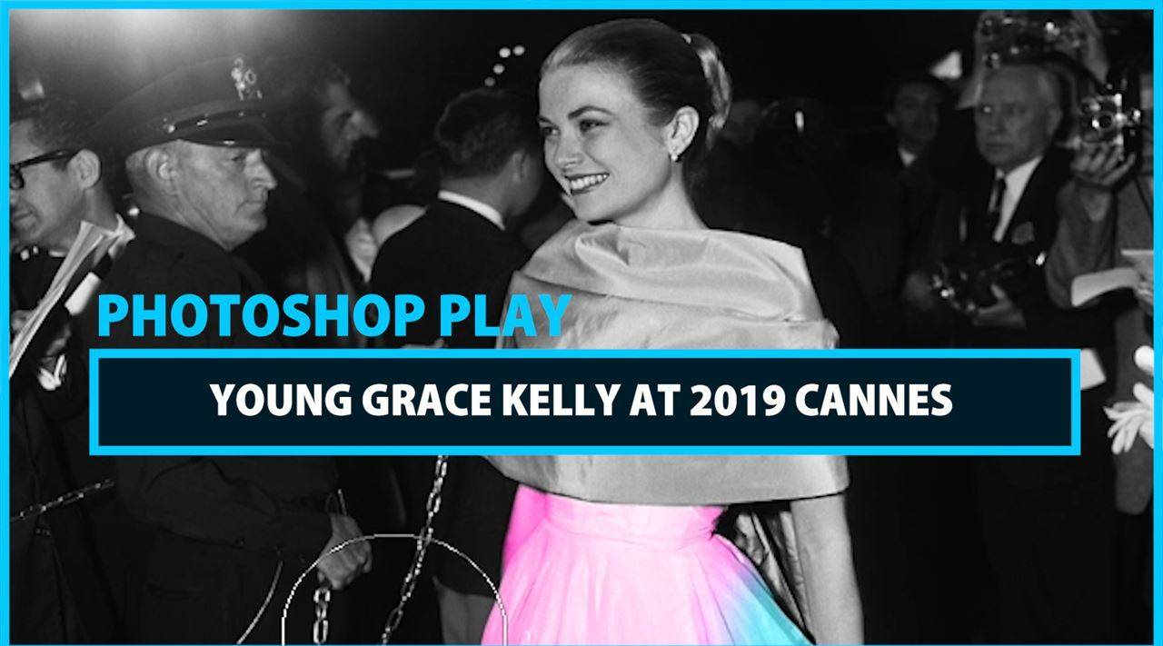 Celeb Photoshop Transformation: Grace Kelly at Cannes in 2019
