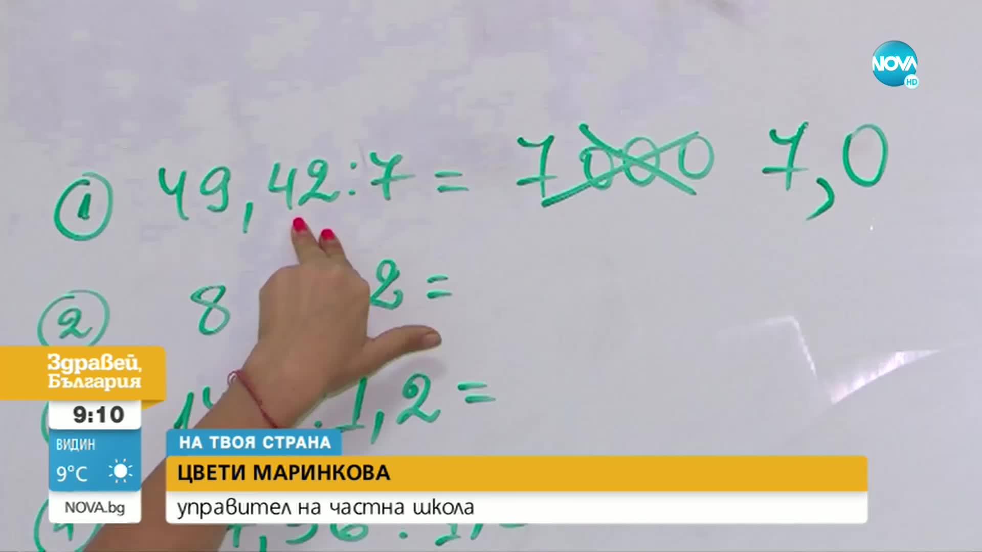 """""""НА ТВОЯ СТРАНА"""": На прага на новата учебна година"""