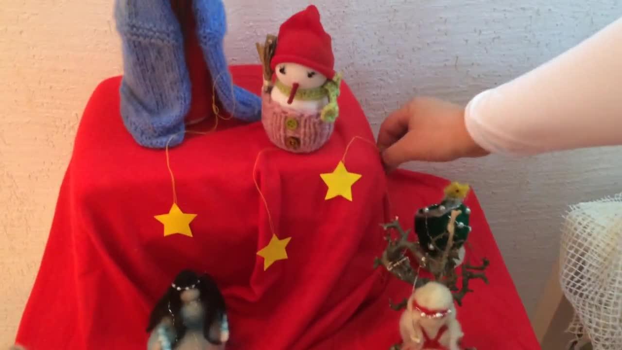 Как да си направим кукла от вълна