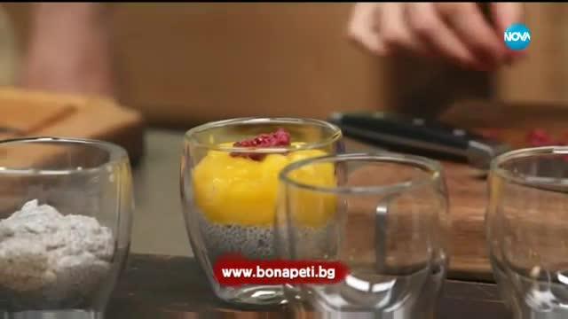 Пудинг с манго и чиа - Бон Апети (21.11.2017)