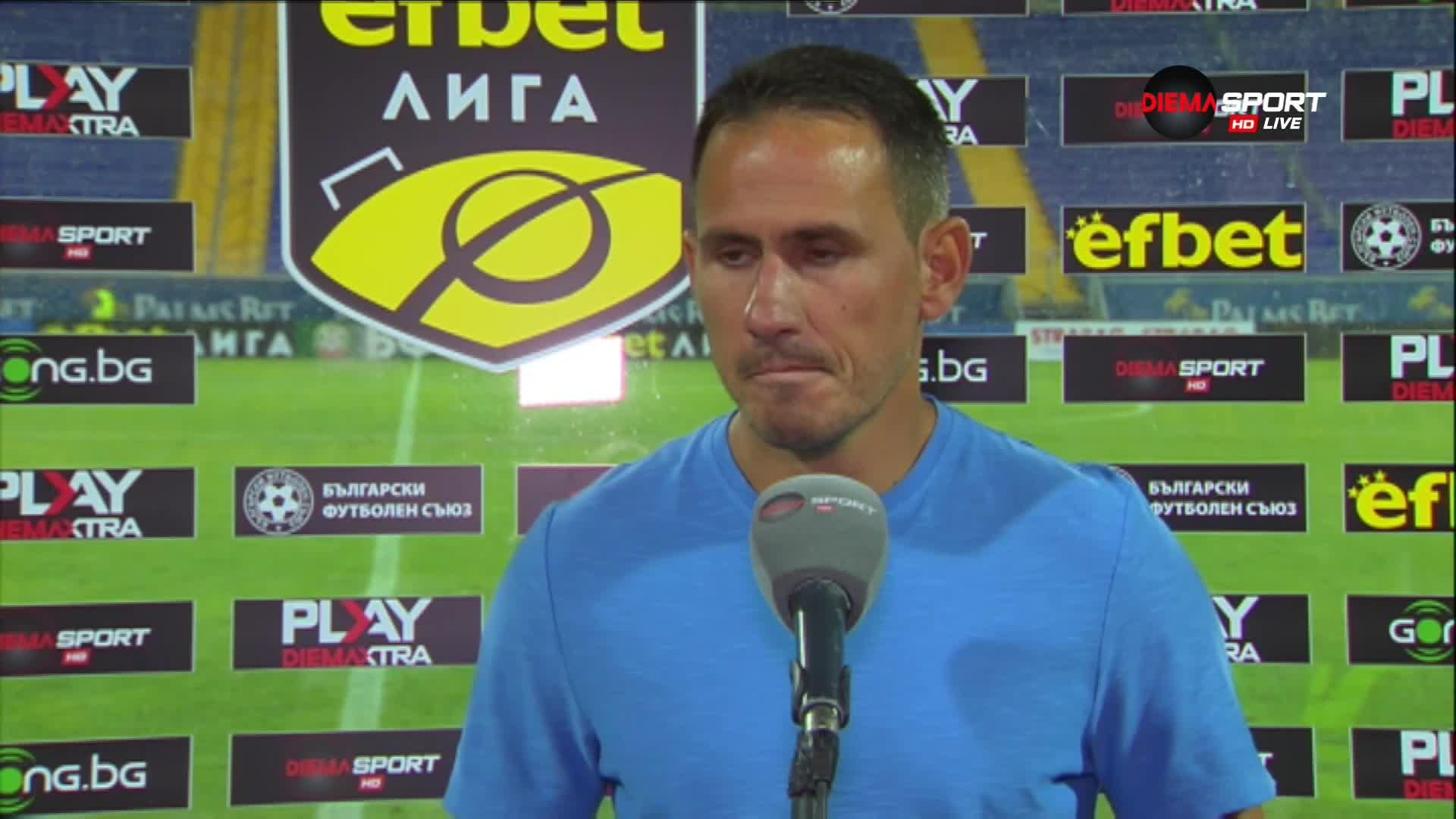 Живко Миланов с гореща новина след поражението от Славия
