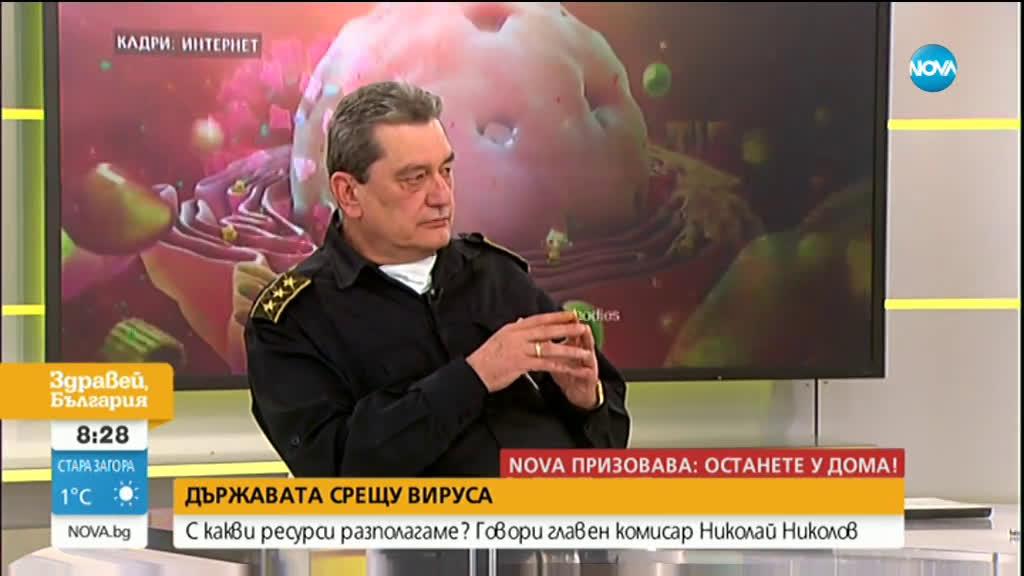 Николай Николов: Днес разпределяме 230 000 предпазни маски