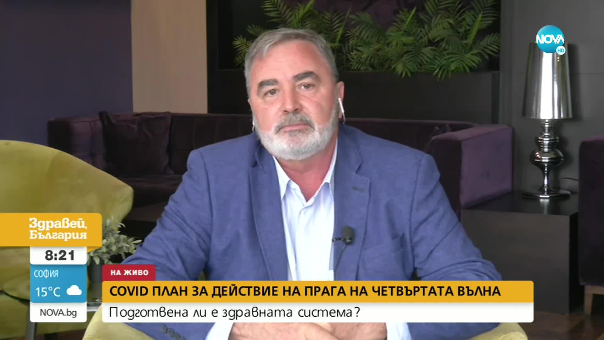 Кунчев: Имаме две оръжия срещу COVID-19 – ваксинацията и мерките