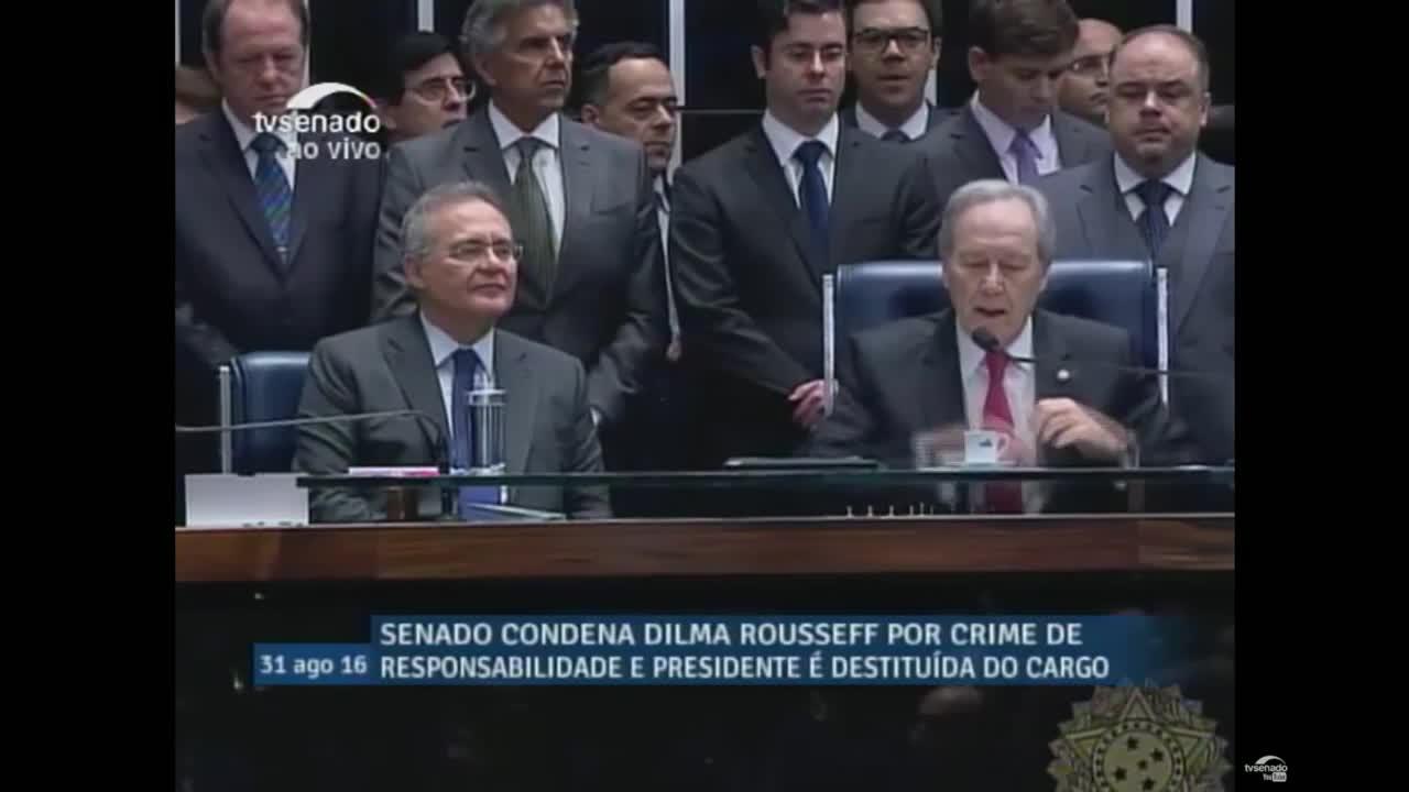 Brazil: Senators vote in favour of Rousseff impeachment