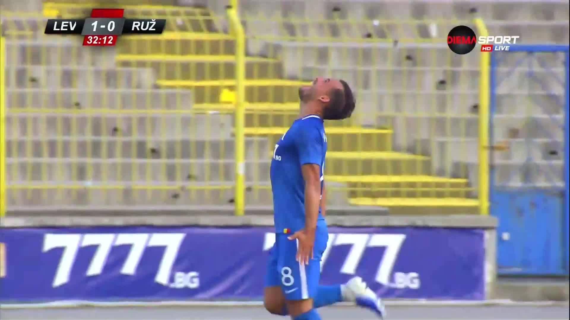 Левски поведе на Ружомберок и в реванша