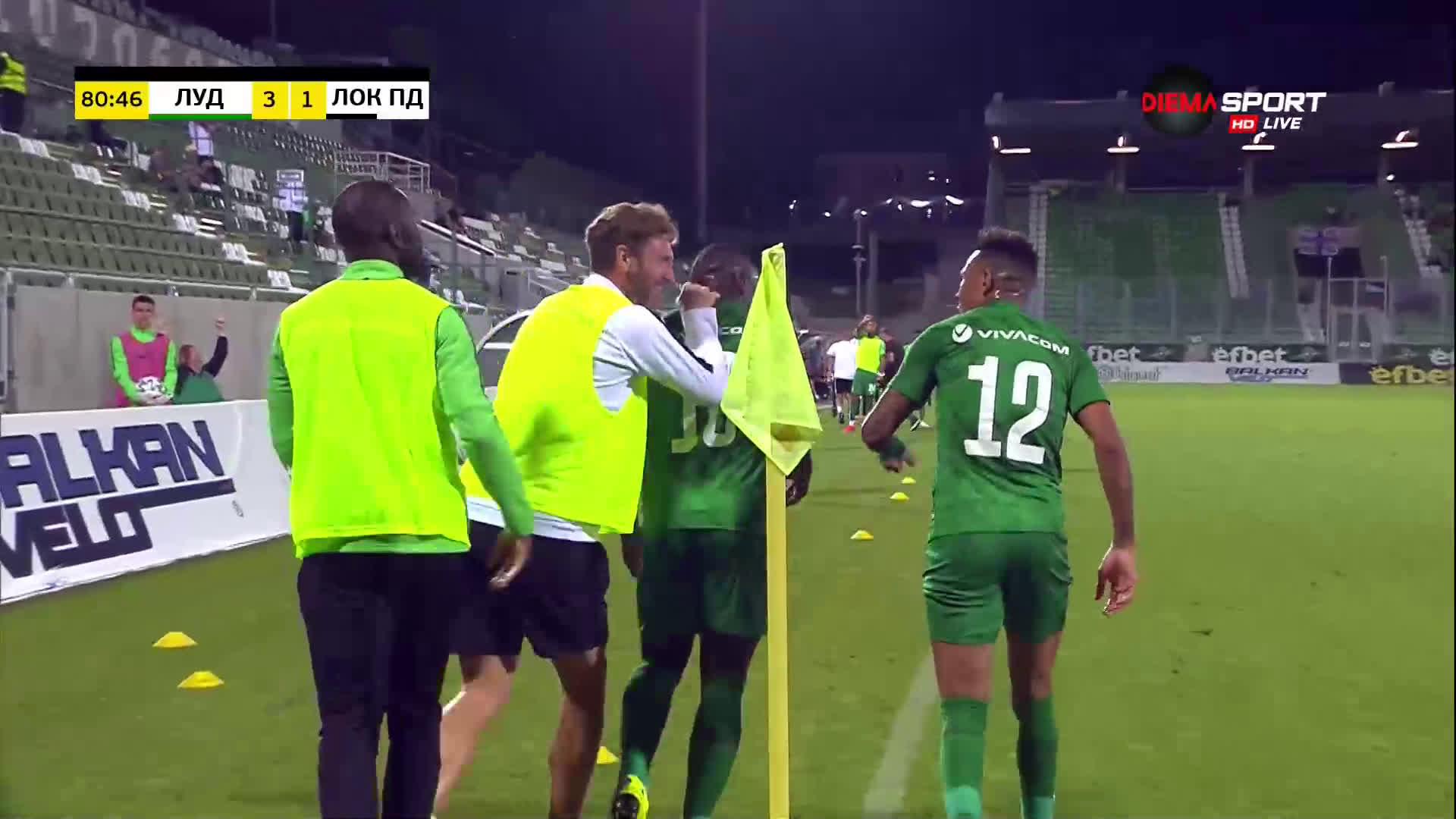 Лудогорец нокаутира Локо Пд с два гола за 2 минути
