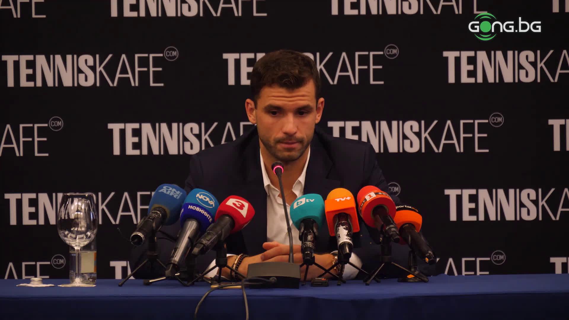 Григор сподели до кога ще играе тенис