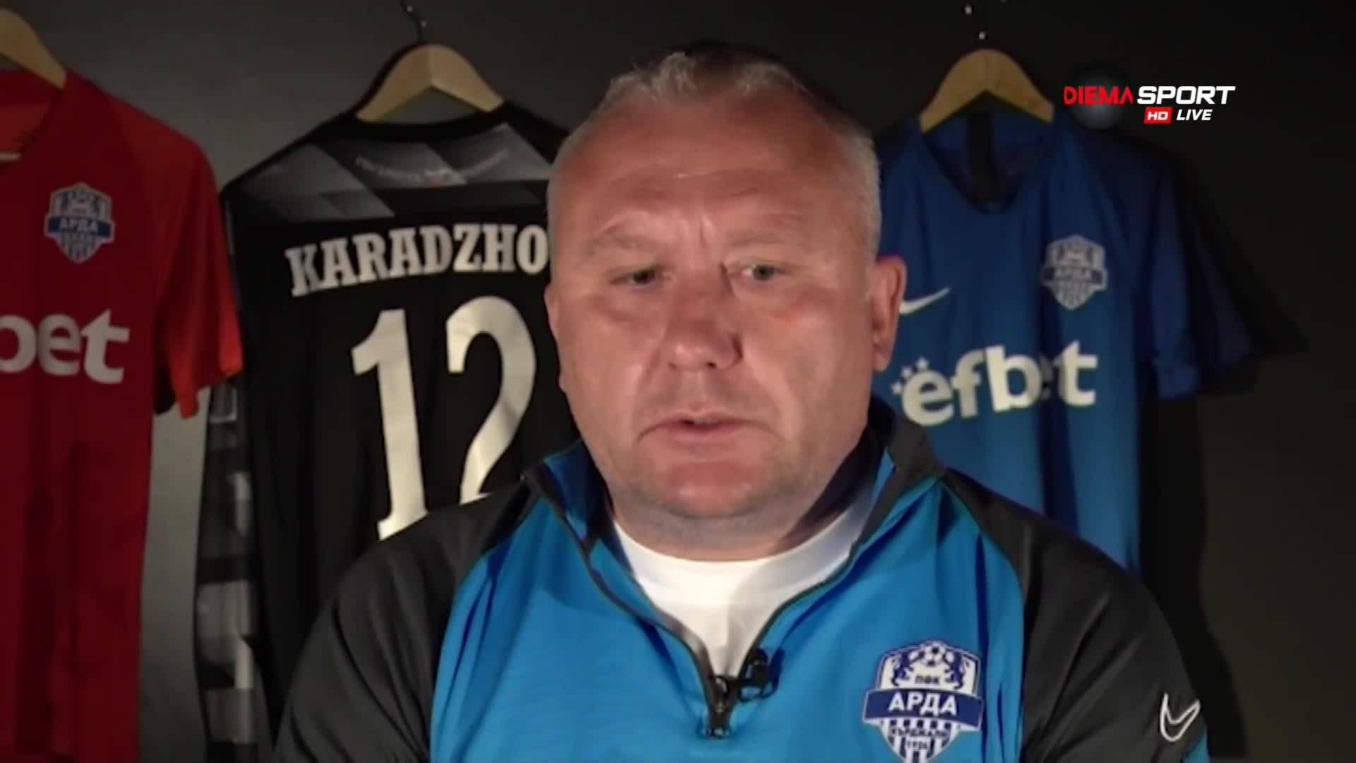 Николай Киров: Дано завършим сезона по подобаващ начин