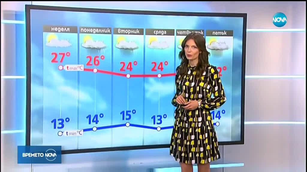 Прогноза за времето (18.05.2019 - централна емисия)