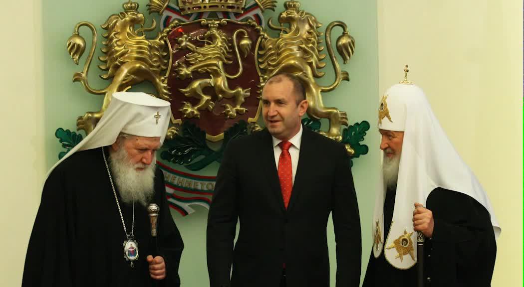 Светият синод разпространи аудиозапис от срещата между президента и Руския патриарх