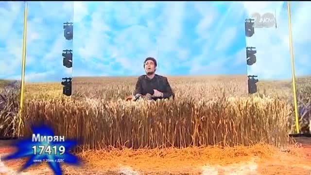 Мирян Костадинов - X Factor Live (11.11.2014)