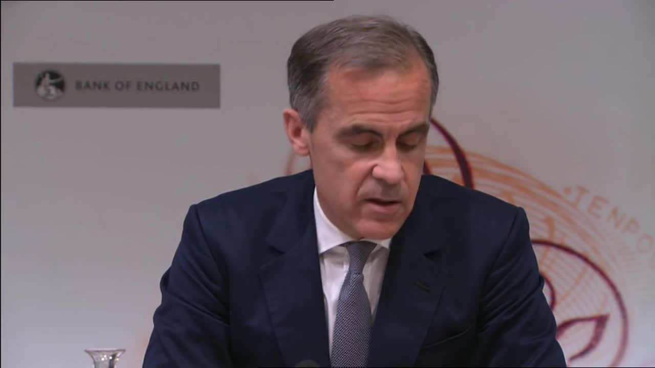 UK: Carney announces UK interest rates cut for first time in 9 years