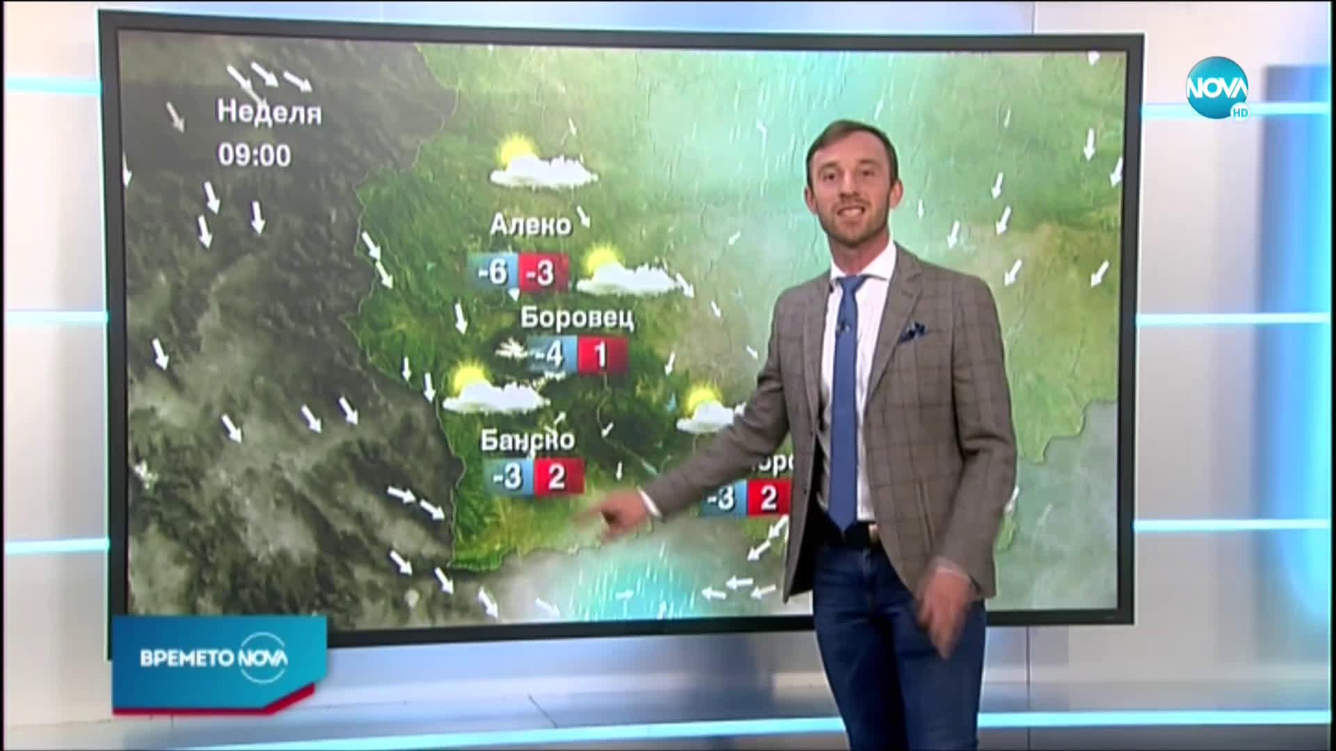 Прогноза за времето (27.02.2021 - централна емисия)
