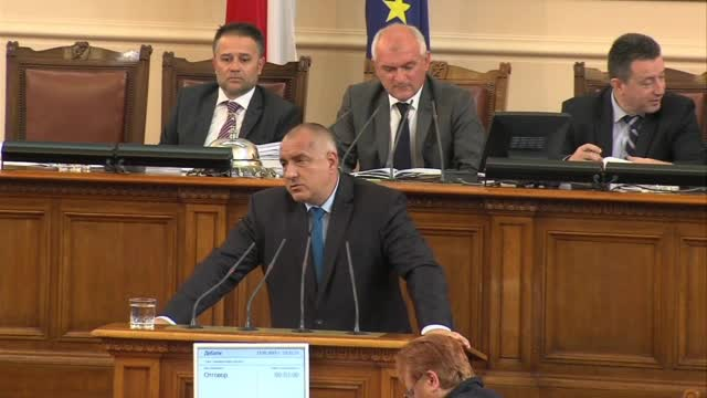 Борисов: Военните са на границата с Македония