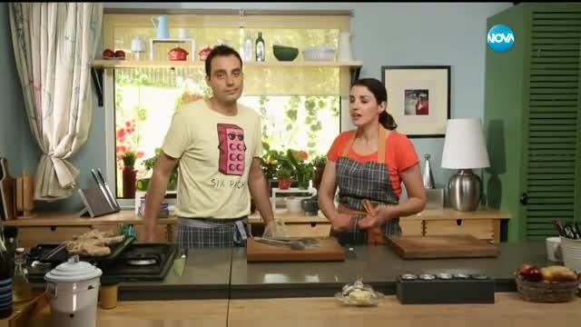 Свински котлети с доматено масло - Бон апети (30.06.2017)