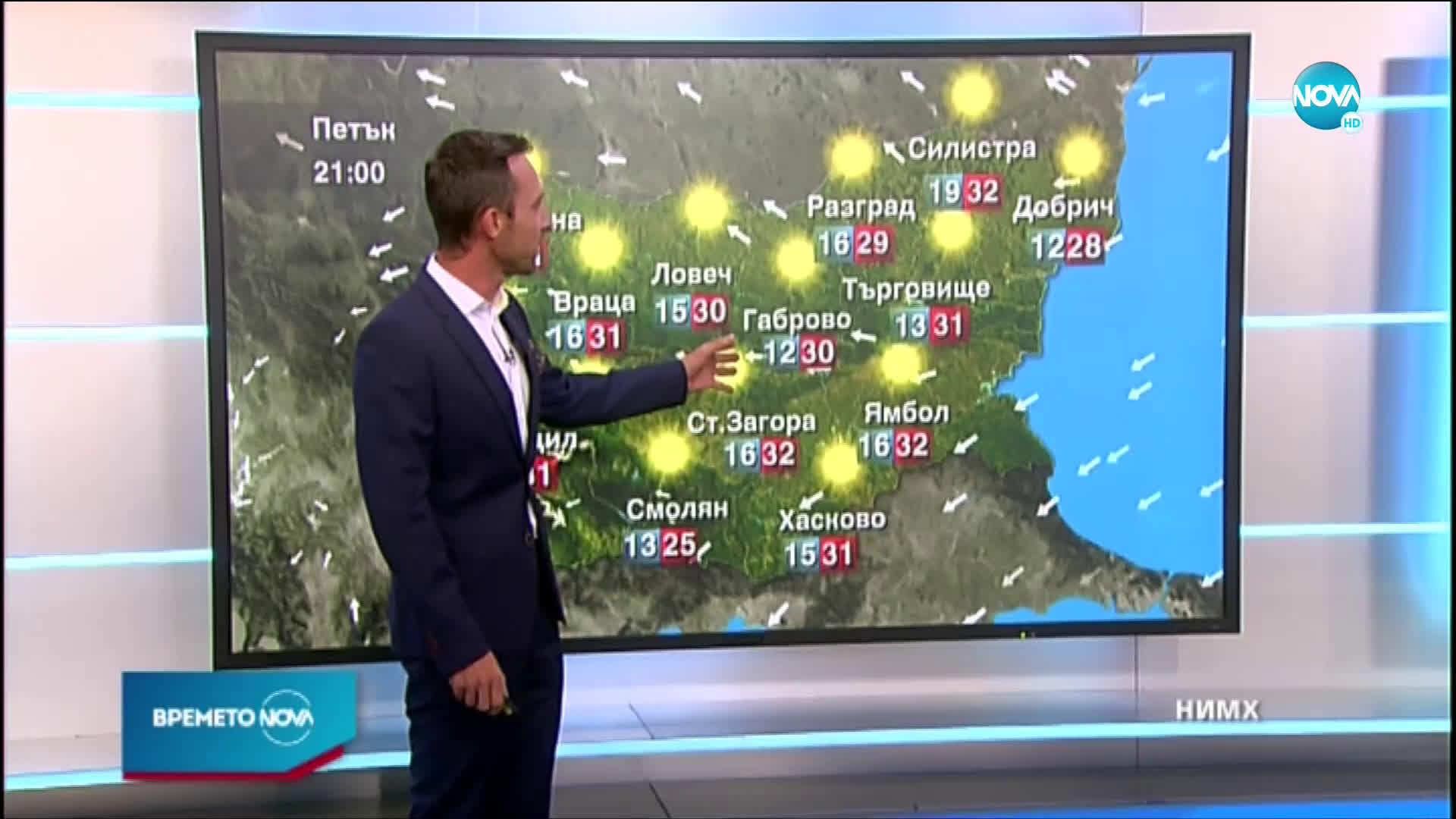 Прогноза за времето (09.07.2020 - следобедна емисия)