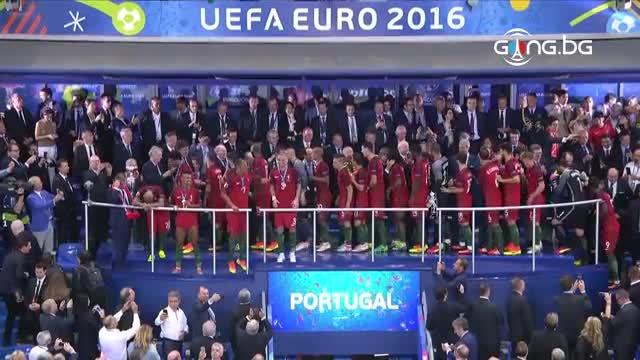 Португалия получи всички почести и европейския трон!