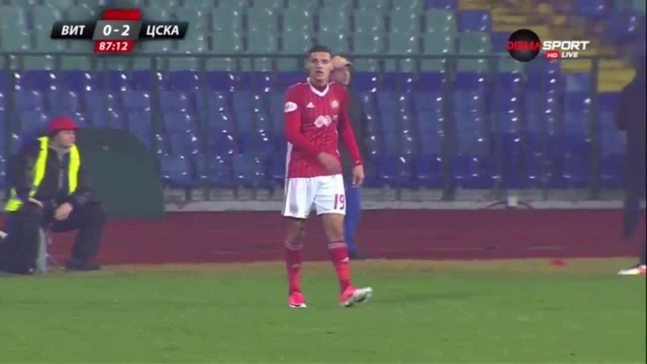 Витоша - ЦСКА 0:2 /репортаж/