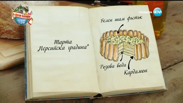 "Десислава - Торта ""Персийска градина"" - Bake Off (15.11.2016)"