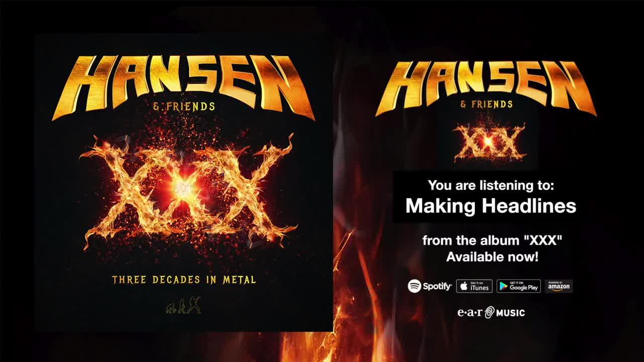 Kai Hansen feat. Tobias Sammet - Making Headlines ( Official Full Song Stream)