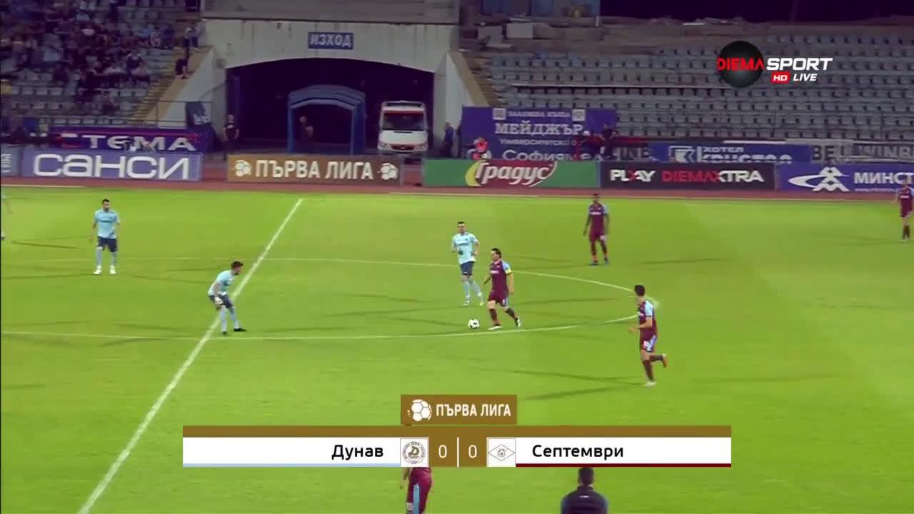 Dunav Ruse Septemvri Sofia Goals And Highlights