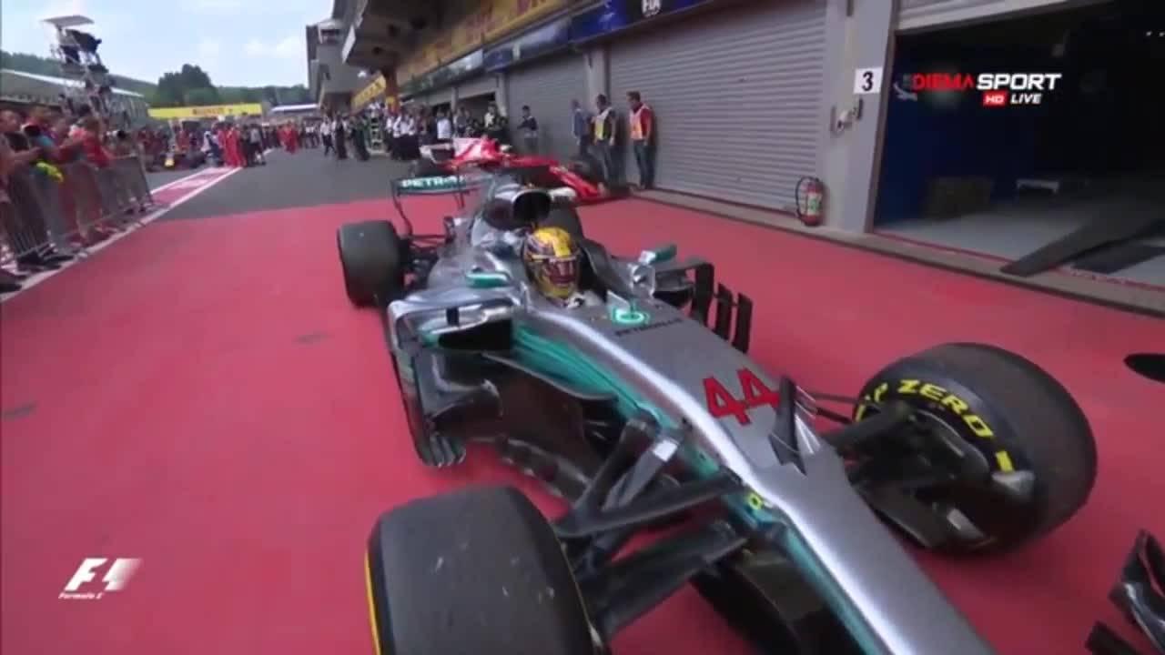 Хамилтън с триумф в Гран при на Белгия