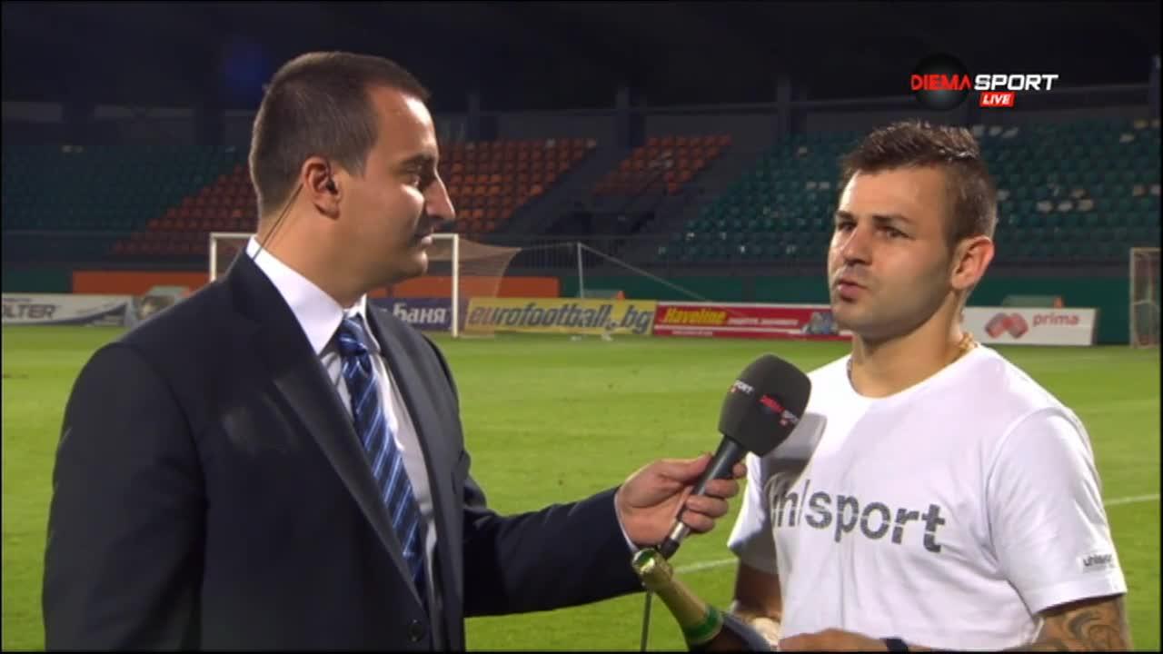 Мнението на Играча на мача Спас Делев след успеха на Берое над Литекс с 1:0