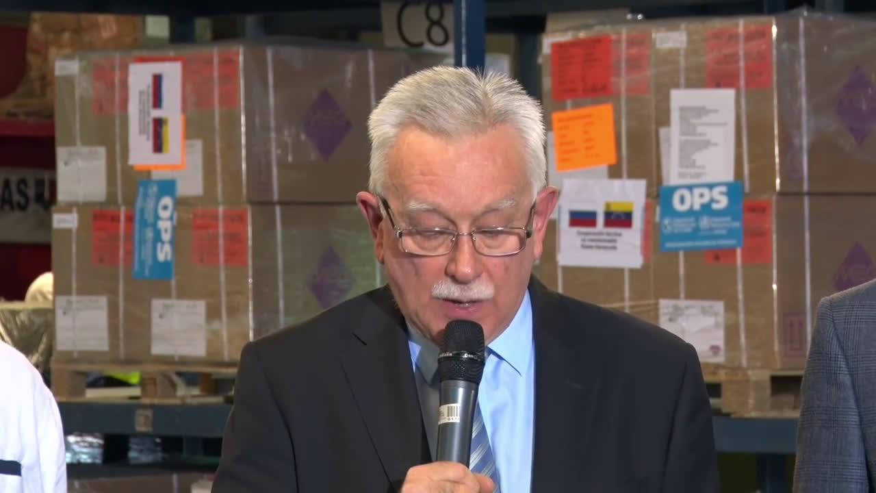 Venezuela: Russia delivers 7 tonnes of humanitarian aid to Venezuela