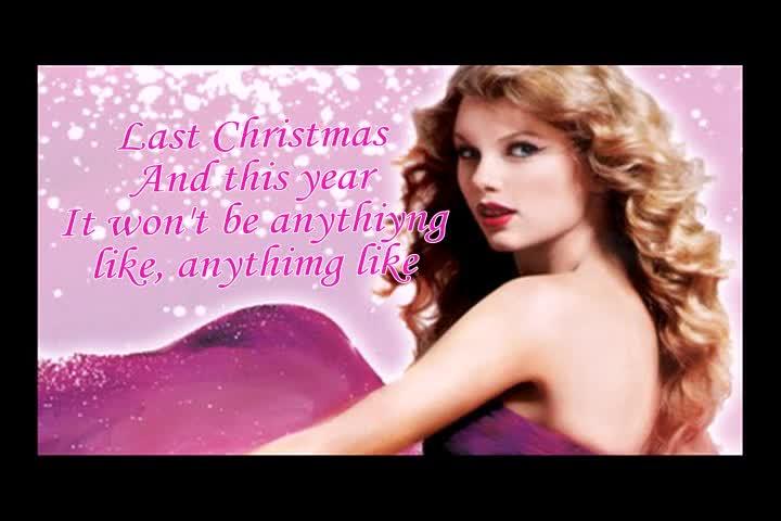 Taylor swift - Last Christmas {lyrics}