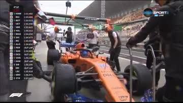 Хамилтън взе и втората тренировка преди Гран При на Китай, Ферари много близо