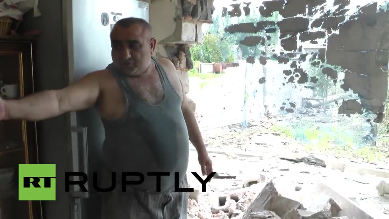 Ukraine: See devastating aftermath following renewed shelling in Donetsk