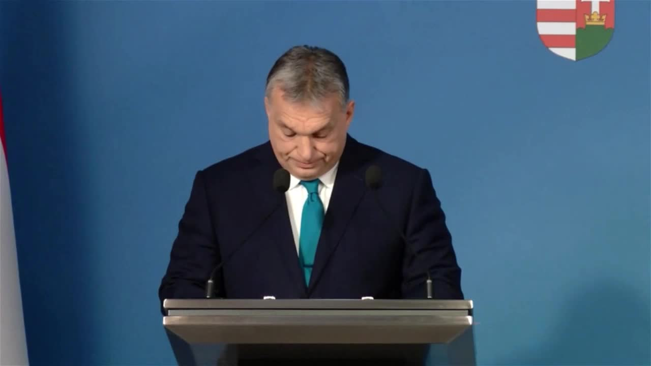 Hungary: Orban calls for anti-immigration majorities throughout EU institutions