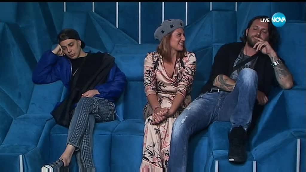 Big Brother изпрати Веселин, Кулагин и Божана на специализирано лечение