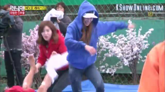 Eng Subs ] Running Man - Ep  244 (with Choa, Jessi, Kim Yoo Ri, Seo