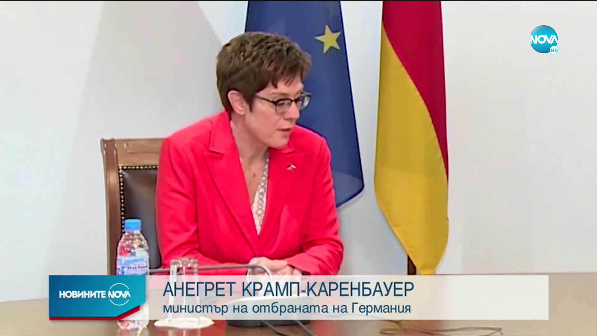 Борисов се срещна с лидера на ХДС Анегрет Крамп-Каренбауер