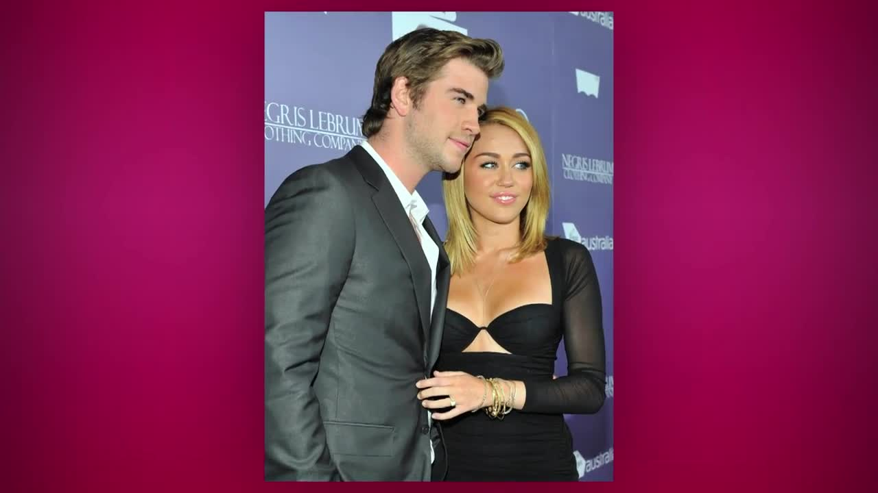 "Miley Cyrus Reportedly ""Hanging Out\"" With Ex-Fiancé Liam Hemsworth"