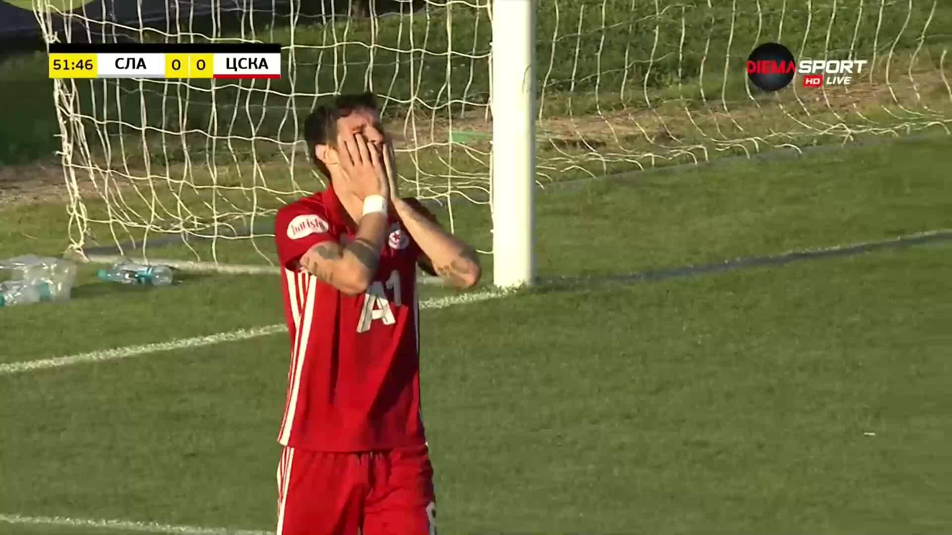 Славия - ЦСКА 0:0 /репортаж/