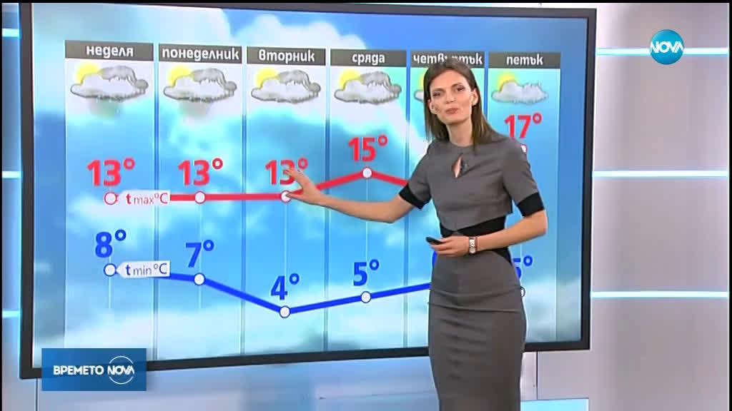 Прогноза за времето (14.04.2019 - обедна емисия)