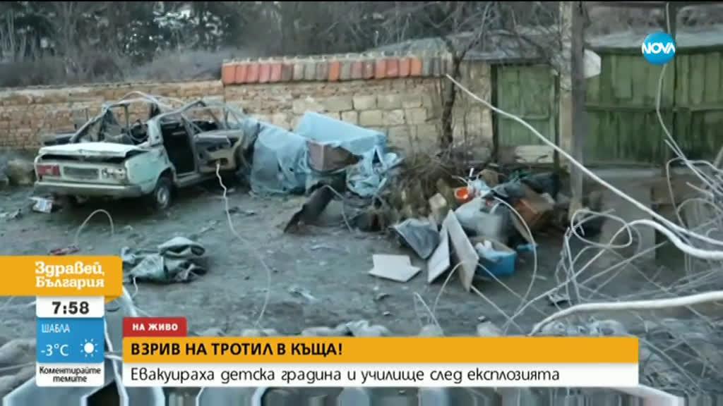 Говори човекът, пръв помогнал на пострадалия при взрива във Ветово