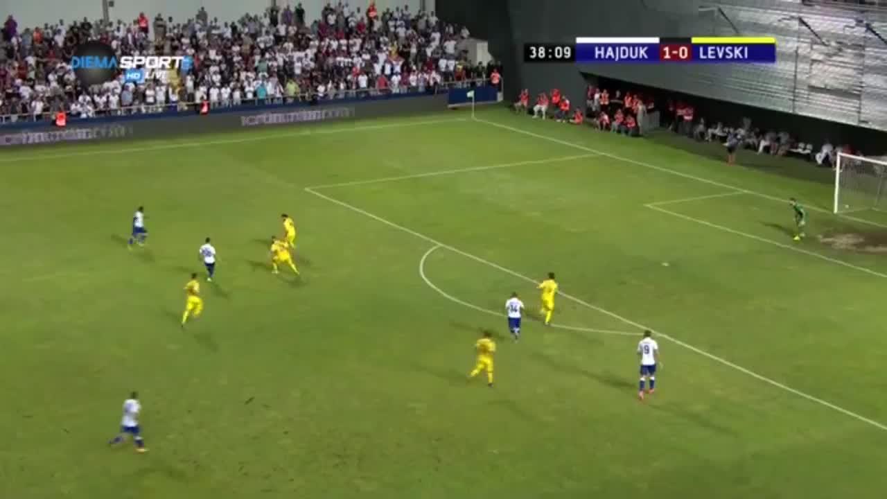 Хайдук - Левски 1:0 /репортаж/