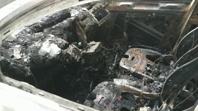 4 автомобила изгоряха в Русе