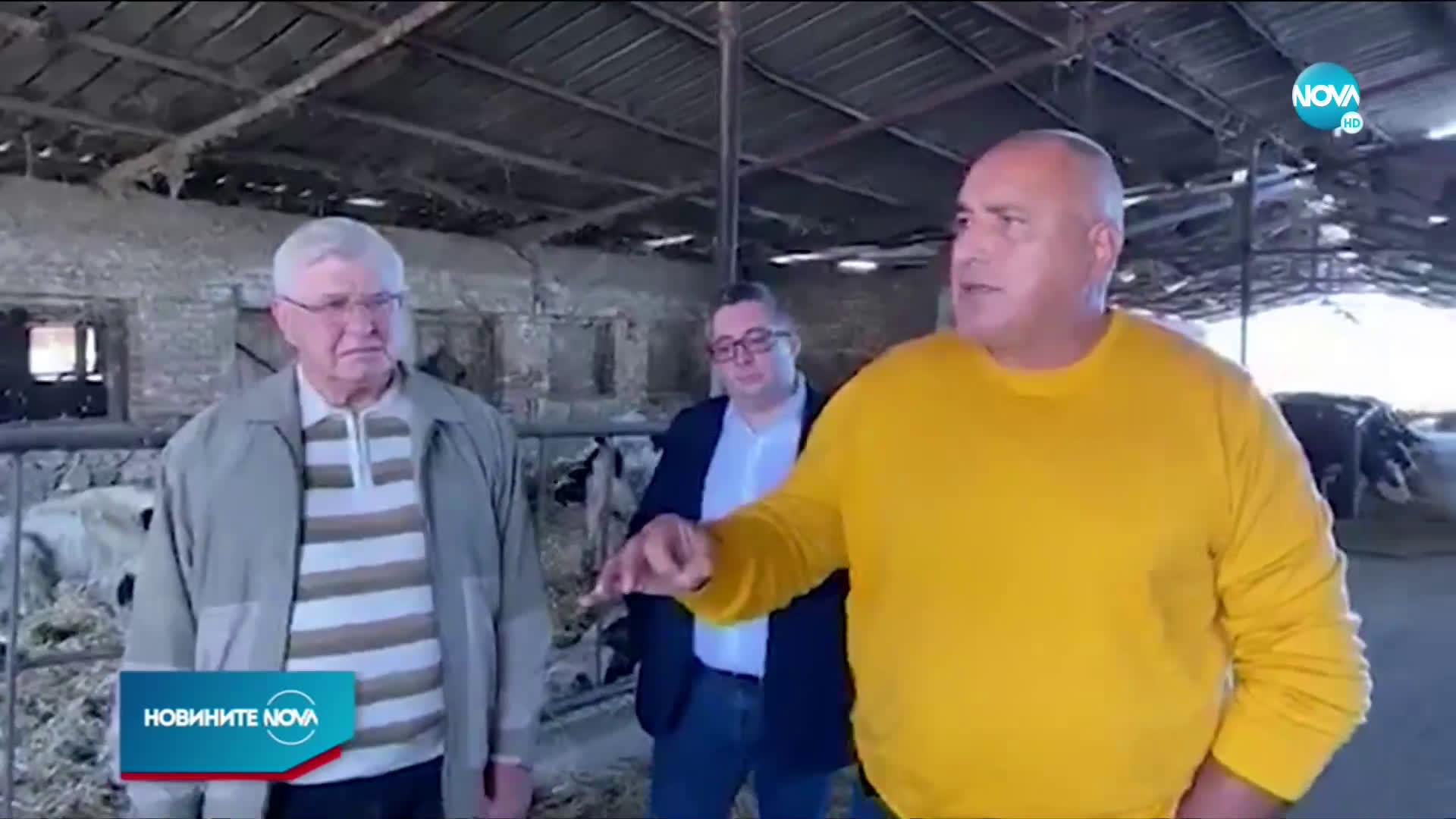 Борисов: 30 000 фермери са получили пари заради COVID-19