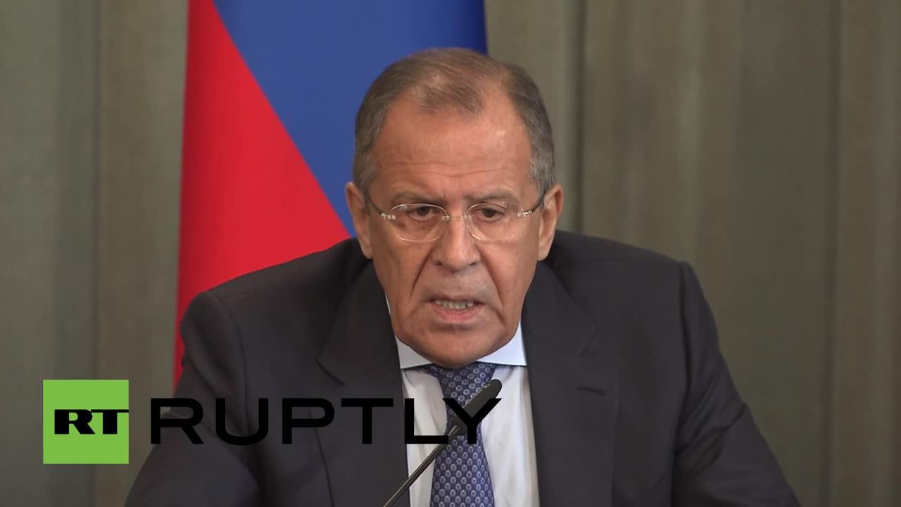 "Russia: Free Syrian Army a \""phantom structure\"" - Lavrov"